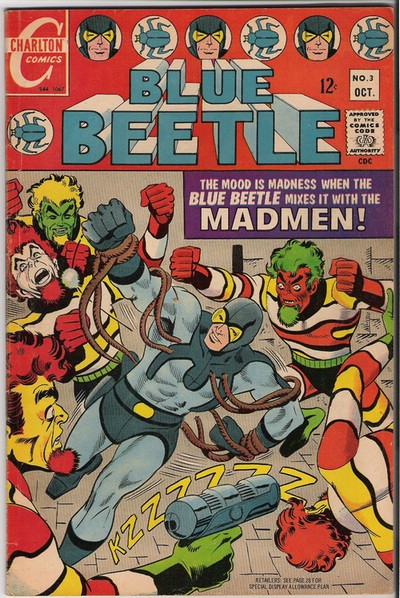 Classic Comic Covers - Page 3 BlueBeetle3